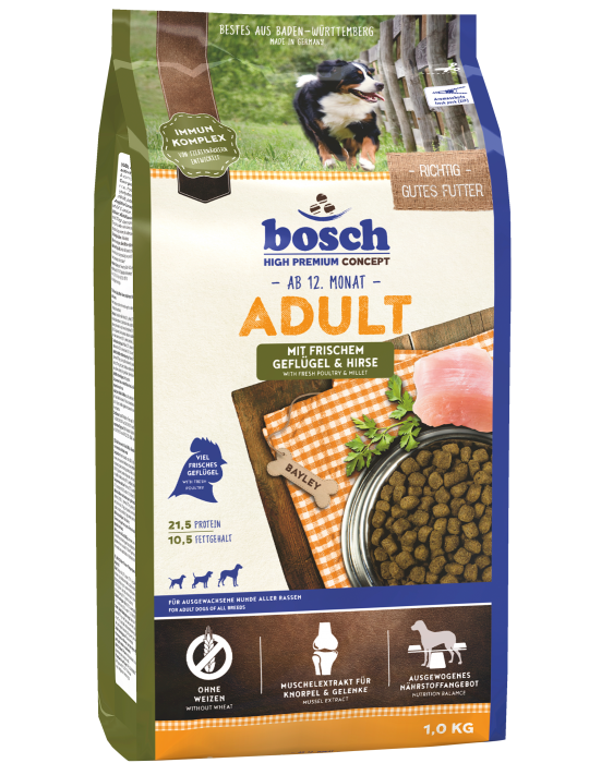 Bosch Adult with Fresh Poultry & Millet